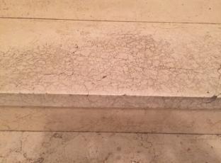ליטוש וחידוש מדרגות שיש ומריחת סילר אוטם